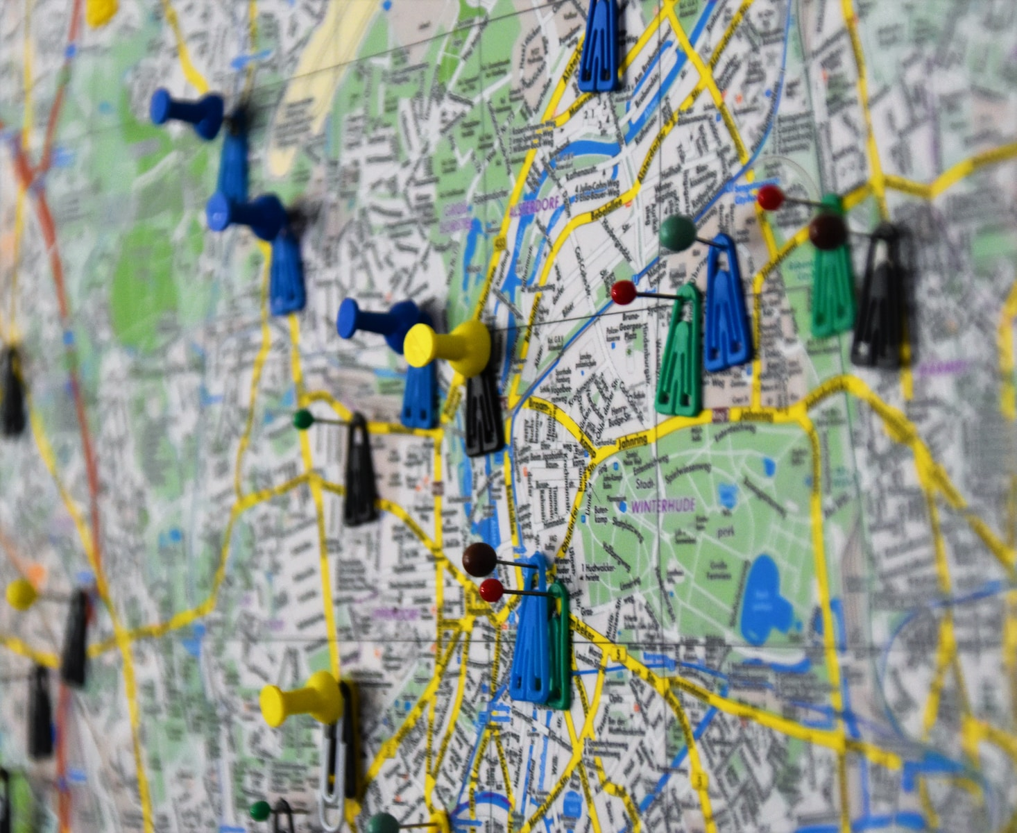 gps tracking map